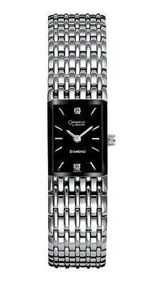 Caravelle New York Women's Quartz  Silver-Tone Band Watch 43P005