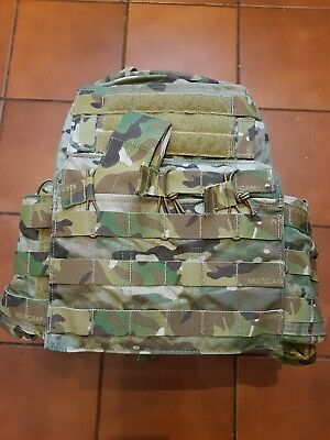75a9b83bf5f Multicam British Army SAS Crye Precision Cage CPC Plate Carrier UKSF MTP
