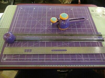 We R Memory Keepers Crafter'S Ultimate Cutting Mat, Ruler, Trimmer & Circle Cutt