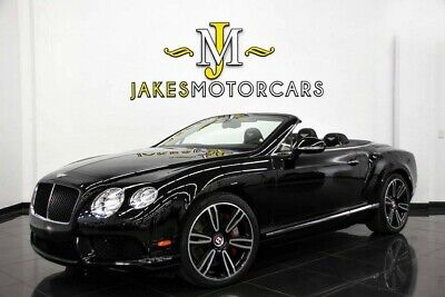 2014 Bentley Continental GT GTC V8 MULLINER ($233,665 MSRP) 2014 CONTINENTAL GTC V8 MULLINER ~$233,665 MSRP ~ BLACK ON LINEN~ ONLY 11K MILES