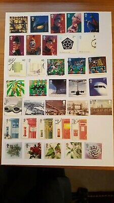 GB commemorative stamps 2000-2004 a selection.