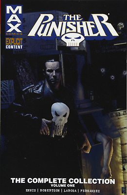 Punisher Max Complete Collection Vol. 1 (The Punisher: Comic PAPERBACK NEW BOOK