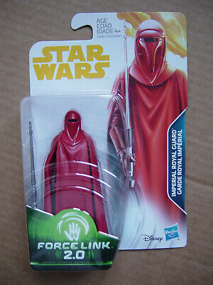 Star Wars 3.75 Force Link 2.0   Imperial Royal Guard  Moc