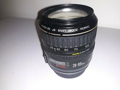 Canon EOS EF 28-105mm f3.5-4.5 USM  Zoom LENS 7-blades Full Frame for DSLR