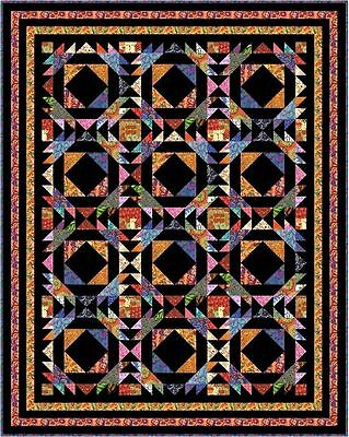 """TAINTED LOVE - 84"""" x 67"""" - Pre-cut Quilt Kit by Quilt-Addicts King Single size"""