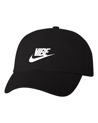 3a22db7b Just Vibe Swoosh Check Good Vibes Dad Hat Unstructured Baseball Cap  Adjustable