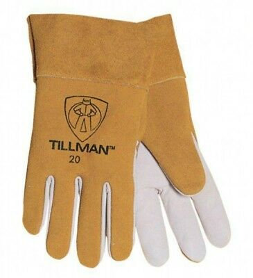 Tillman 20 Top Grain Kidskin/Goatskin Tig Welding Gloves Large Size