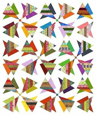 """RADIOACTIVE - 83.5"""" x 70"""" - Pre-cut Quilt Kit by Quilt-Addicts Single size*"""