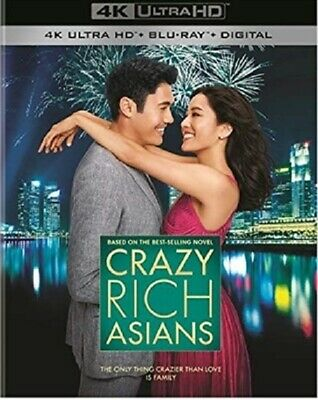 Crazy Rich Asians 4K UHD 11/18 4K (used) Blu-ray Only Disc Please Read
