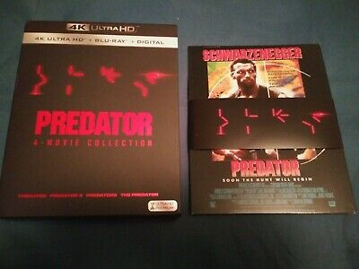 Predator SLIPCOVER ONLY and Cards From 4K Bluray Collection