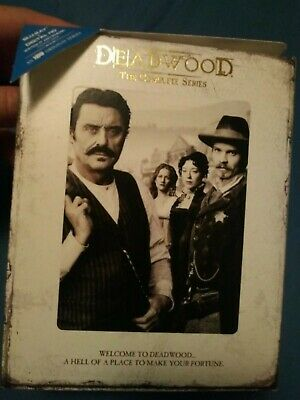 Deadwood SLIPCOVER ONLY The Complete Series Bluray 2013 PLEASE READ