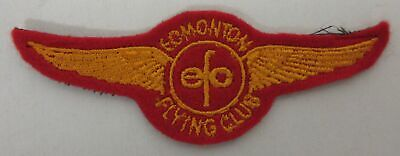 Edmonton Flying Club Cloth Patch Crest - wings