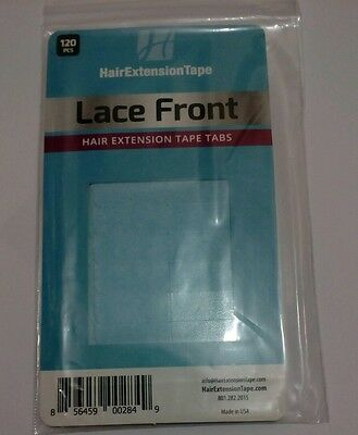Walker Lace front hair extension tape tabs (for tape in extension) 120 Tabs