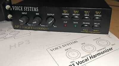 Vocal Harmonizer Voice System