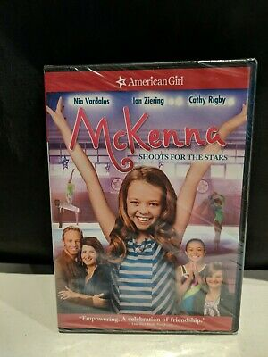 American Girl DVD McKenna Shoots For The Stars BRAND NEW, SHIPS FREE!