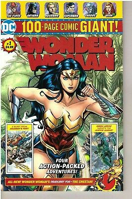 Wonder Woman  # 1 - 2019 - DC 100-Page Comic Giant! - Wal Mart Exclusive