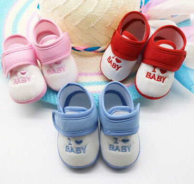 Cute Spring Summer Baby Kids Toddler Infant Breathable Anti-Slip Cotton Shoes