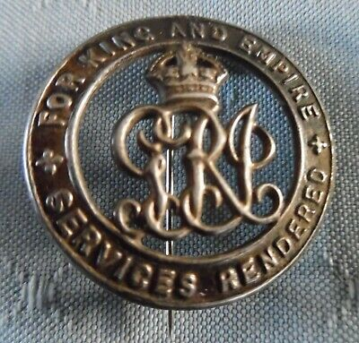 WW1 Silver War Badge number B259444 to Frederick A Smith. Pte. Scottish Rifles
