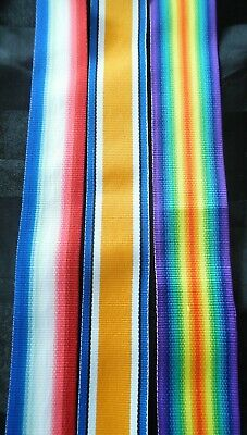Wwi Medal Ribbon Replacement For Great War Anzac Medals