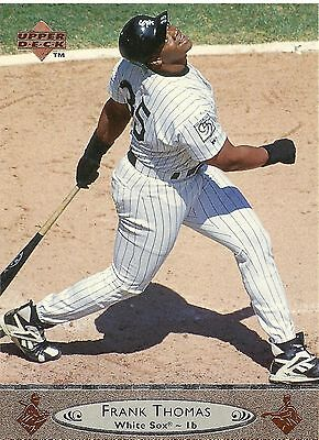 1996 Upper Deck #300 - Frank Thomas - Chicago White Sox - Free Shipping