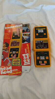 Vintage Coleco Head to Head Basketball game with original box