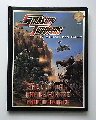 STARSHIP TROOPERS The Miniatures Game - Hardcover RPG Mongoose MGP9106