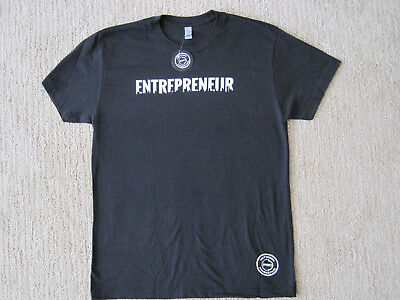 Entrepreneur Black Graphic T Shirt Next Level Brand New With Tags Small