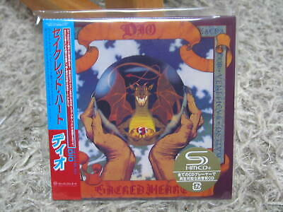 Dio Sacred Heart Deluxe Remaster Rare Oop Japan Mini-Lp 2Shm Cd