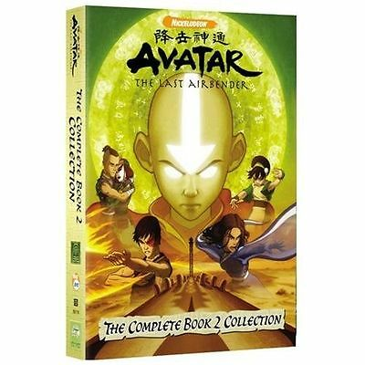 AVATAR The Last Airbender DVD Box Set Complete Book 2 Collection * Free Ship! *