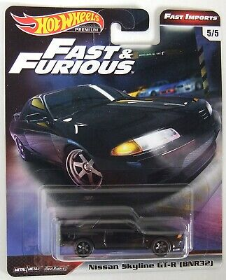 2019 Hot Wheels Car Culture - Fast & Furious - NISSAN SKYLINE GT-R - RR M/M JDM
