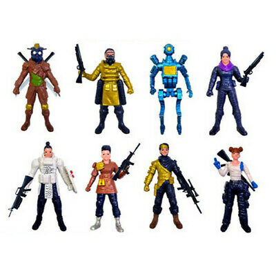8pc/Set APEX Legends Hero 4.5inch PVC Action Figure Toy Doll Playset New Gift
