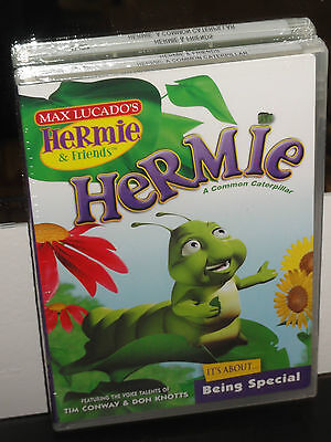 Hermie & Friends - Hermie A Common Caterpillar (DVD) Tim Conway, Don Knotts, NEW