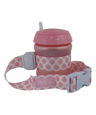 PBnJ Baby SippyPal Sippy Cup Holder Strap Leash Tether & Pacifier Clip