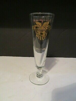VTG Pilsner Beer Glass USMA West Point Military Academy BENNY HAVENS, OH! Lyrics