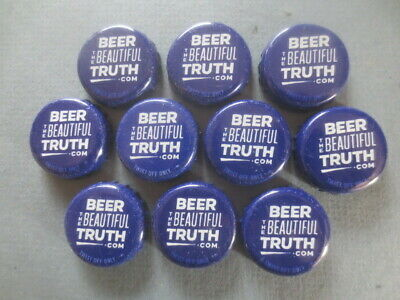 """10 Q & A  TOOHEYS """"BEER The BEAUTIFUL TRUTH """" collectable BOTTLE TOPS"""