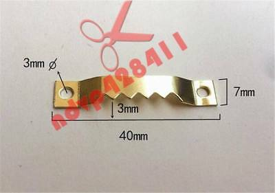 10-50PCS Hanging Picture oil Painting Mirror Frame Saw Tooth Hooks Hangers
