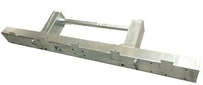 LAND ROVER SERIES 2/3 MILITARY GALVANISED HD 3mm REAR CROSSMEMBER & EXTENSIONS