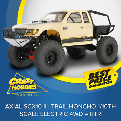 AXIAL SCX10 II™ Trail Honcho 1/10th Scale Electric 4WD – RTR*IN STOCK*