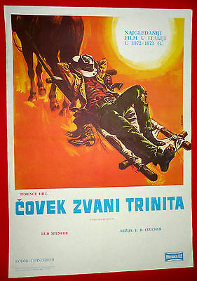 They Call Me Trinity 1970 Terence Hill Bud Spencer Barboni Exyu Movie Poster # 5