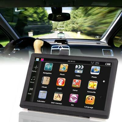7-inch Car Truck GPS Navigator 8GB 256MB Touch Navigation System With Free Maps
