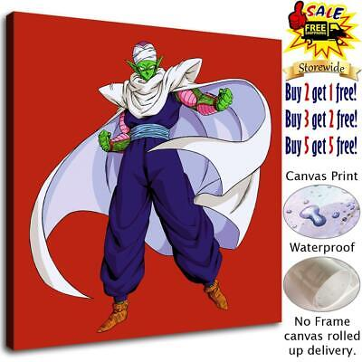 Dragon Ball Piccolo HD Canvas Print Painting Home decor room Wall art Picture