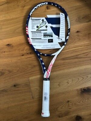 Babolat Pure Aero 'Stars and Stripes' Tennis Racket. Grip 4. New in Packaging
