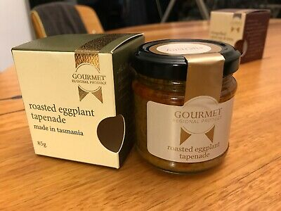 Gourmet Regional Produce Roasted Eggplant Tapenade Made In Tasmania