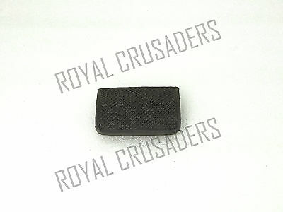 New Lambretta Brake Peddal Rubber Black Gp/li/sx/tv #vp329