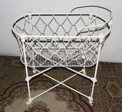 Antique Portable Cot By Hoskins c1885 [PL3775]
