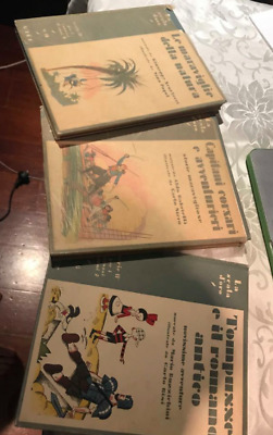 OLD rare CHILDREN VERY RARE ILLUSTRATED italian books