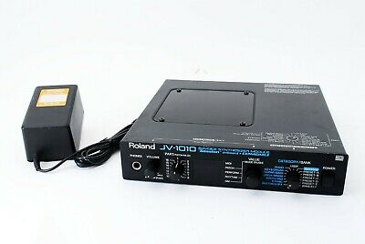 Roland JV-1010 64Voice Sound Box Synthesizer W/100V Adapter New Internal Battery
