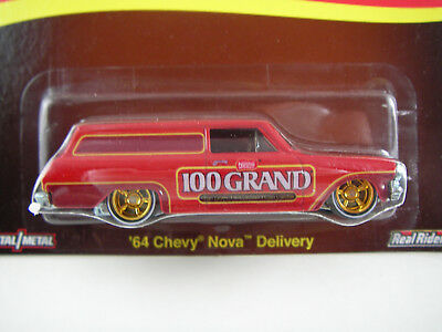 Hot Wheels Nestlé 64 Chevy Nova Delivery CG12