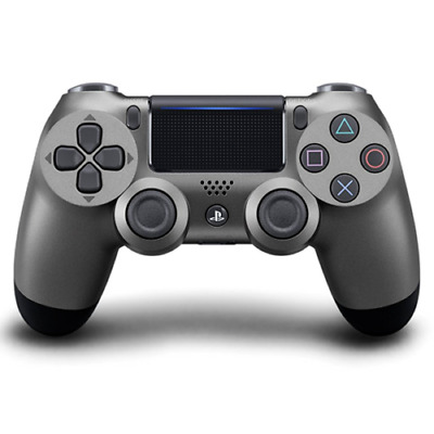 BLACK  Sony Playstation 4 wireless Controller PS4 controller DualShock 4 STEEL
