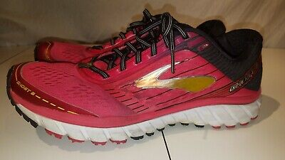 690c3e3ff65 Brooks Ghost 9 Women ssize 12 Running Shoes pink black Athletic Training gym